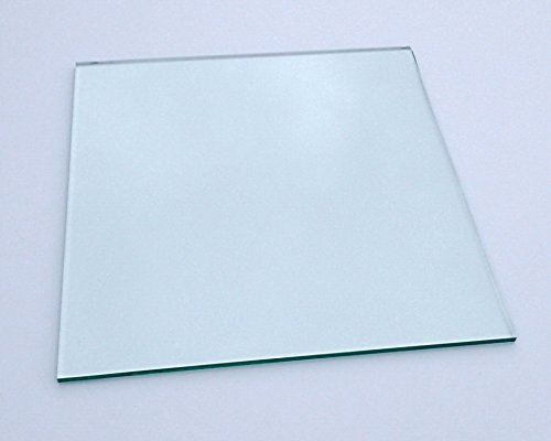 "11.81""x11.81""x0.22"" (300mm X 300mm) Borosilicate Heated Bed Glass Plate Works W/ Prusa, Mendela, & AO Series"