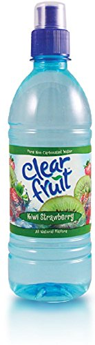 Clear Fruit Kiwi Strawberry Water Sport Bottle, 16.9 oz (24 Pack) by Clear Fruit