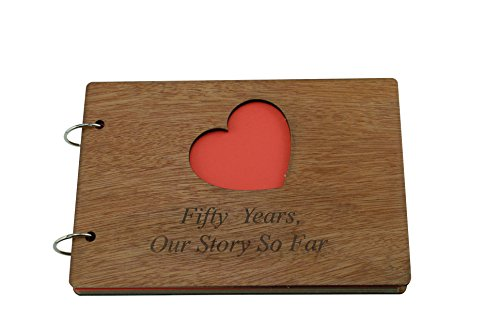50 Years Our Story So Far - Scrapbook, Photo album or Notebook Idea For 50th Anniversary ()