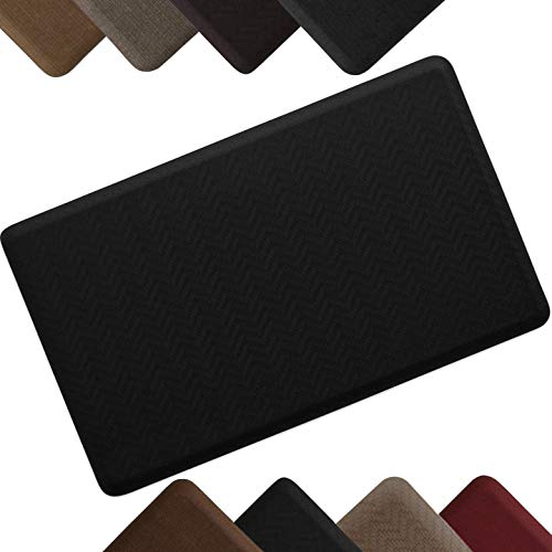 Ergo Foam - NewLife by GelPro Anti-Fatigue Designer Comfort Kitchen Floor Mat Stain Resistant Surface with 5/8
