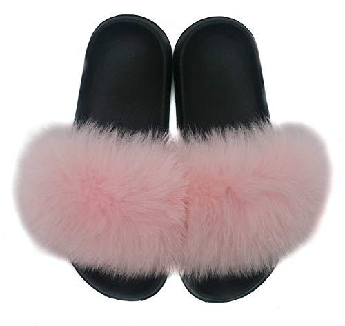 Fur Fox Hima Baby Slipper Pink fXS5q