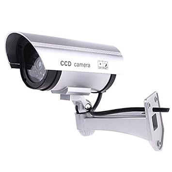 ArturoLudwig cámara de seguridad premium falsa/maniquí cctv con LED parpadeante luz: Amazon.es: Electrónica