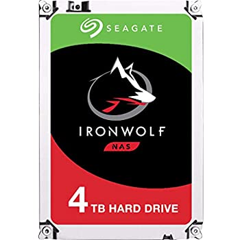 "Seagate 2 Pack IronWolf NAS 4TB 3.5/"" Internal Hard Drive #ST4000VN008 2"