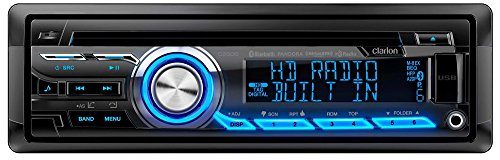 Clarion CZ505 Built-In HD Radio Tuner Clarion Car Stereo