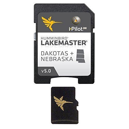 Humminbird DAKOTAS/NEBRASKA MicroSD w/adapter 600013-3 by CWR