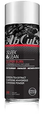 AbCuts Sleek & Lean Super Burn, 80 Softgel Capsules