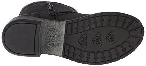 Roxy Women's Scout Winter Boot, Black, 8 M US
