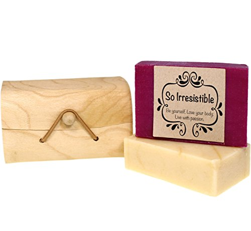 Red Wine and Beer Handmade Soap with Virgin Organic Coconut Oil, Essential Oils and Natural Ingredients - Luxury Wedding, Housewarming and Birthday Gift Set for Men and Women