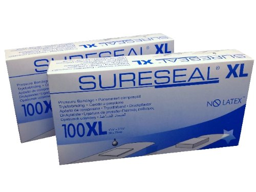 sureseal-bandages-xl-no-latex-85200-pack-of-2-boxes-200-bandages-sure-seal