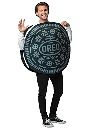 Rasta Imposta Oreo Cookie Costume, Adult, Mens, Womens, Unisex, One Size -