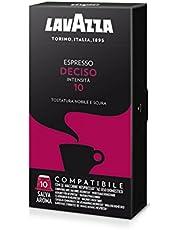 Sconti speciali su Lavazza Capsule Compatibili Nespresso Espresso Deciso - 10 confezioni da 10 capsule [100 capsule] e molto altro