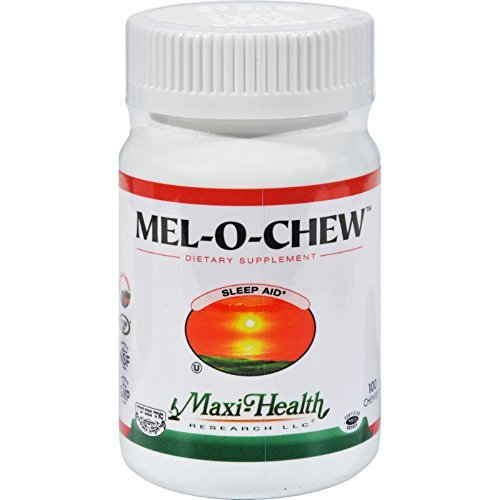MAXI HEALTH KOSHER VITAMINS MEL-O-CHEW, 100 CHEW by Maxi Health Kosher Vitamins