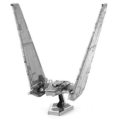 Fascinations Metal Earth Star Wars Force Awakens Kylo Ren's Command Shuttle 3D Metal Model Kit