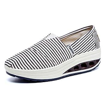 Amazon.com: Zapatillas de plataforma para mujer, zapatillas ...