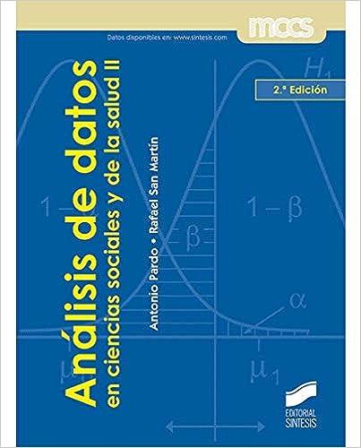 Libro Análisis de datos en ciencias sociales y de la salud II
