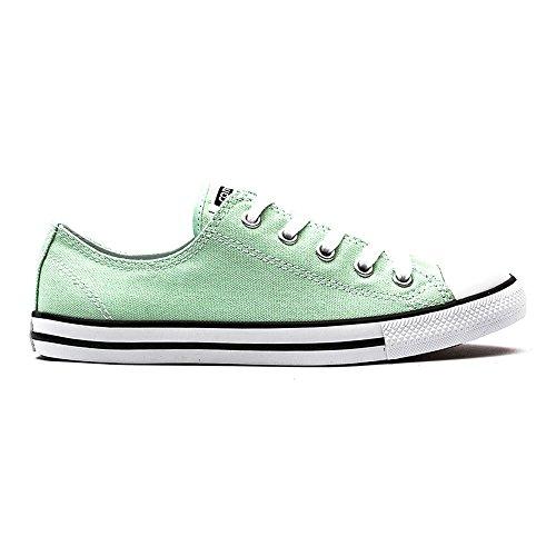 Converse All Star Dainty Ox Femme Baskets Mode Vert