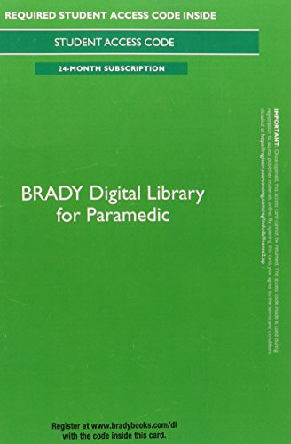 Brady Digital Library for Paramedic -- Access Card (24 months access) by Pearson