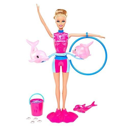 Barbie X8380 - Poupée - Dresseuse de Dauphin