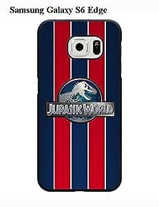 Customize PIX1 Phone Slim Protection Case Jurassic World For Samsung Galaxy S6 Edge