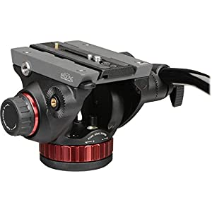Manfrotto MVK502055XPRO3 Photo Video Hybrid Kit with 502 Series Head, Black (Color: Black)