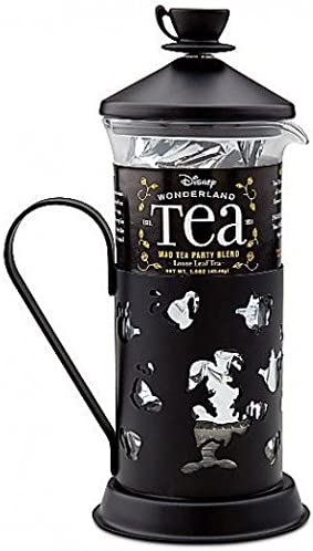 Disney Park French Press Alice Teapot /& Mad Tea Pack With Stacked Teacup NEW