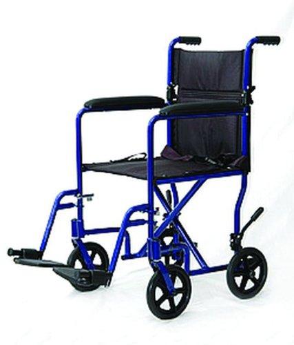 Invacare  Supply Group Lightweight Aluminum Transport Chair   Sku Isg9201bl