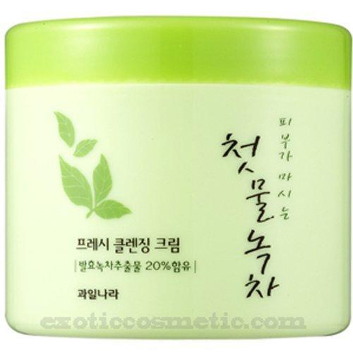 The First Green Tea Natural Facial Cleansing Cream (Fermented Green Tea)