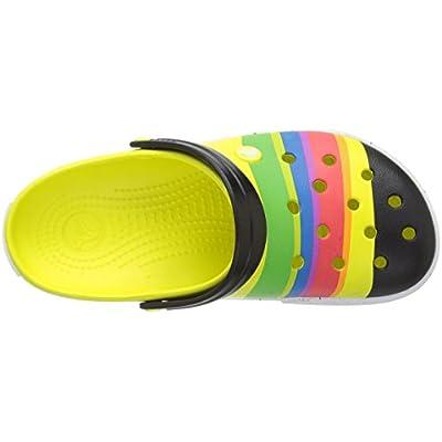 Crocs Women's Crocband Color-Burst Clog   Mules & Clogs