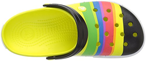 Colores burst Crocs Color Zuecos Crocband Varios Unisex axYwg7