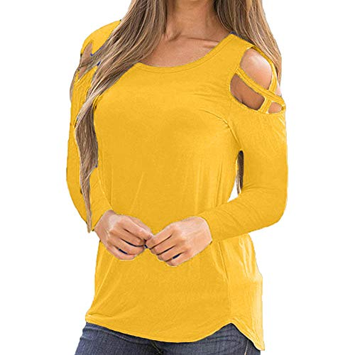 Sunmoot Clearance Sale Sexy Women Summer Printed Cold Shoulder Strappy Short Sleeve T-Shirt Tops Blouses