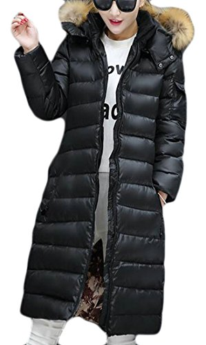 today Jacket Hoodie Puffer UK Quilted Womens Winter Down 1 Fur Warm Faux rrCwvq
