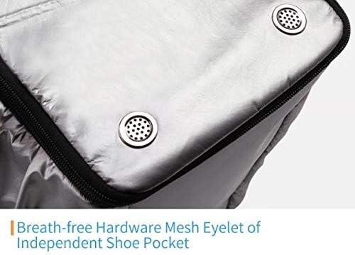 Waterproof Duffel Bag 25.3-Liter Gym Tote Bag Sports Bag Swimming Yoga Silver