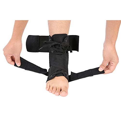 Yunhany Direct Breathable Orthosis Ankle Brace Support Protection Corrector Sprain Arthritis Recovery (Size : 01)