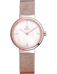 OBAKU V153LXVWMV Womens Wrist Watches, Classic Analog Watch with 2 Hands