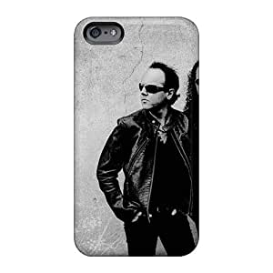 Iphone 6plus QFA8634bmUN Special Colorful Design Metallica Band Skin Scratch Resistant Cell-phone Hard Cover -EricHowe