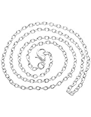 silver chain 60 cm