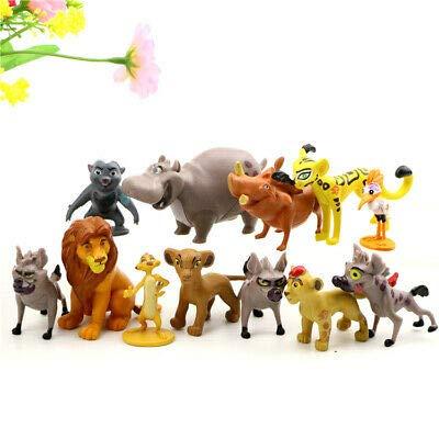 Amazon.com: Optovichok - Juego de 12 figuras de león rey con ...