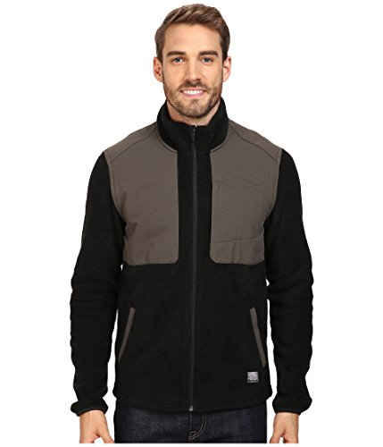 Coated Twill Jacket (Toad&Co Men's Ballard Fleece Jacket Black Large)