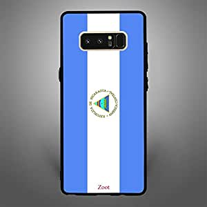 Samsung Galaxy Note 8 Nicaragua Flag
