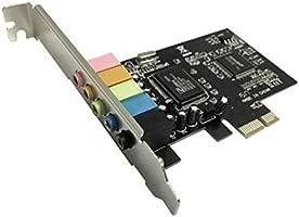 PCI-E PCI Express 6 Canales 5.1 CMI8738 Tarjeta de Sonido de Audio ...