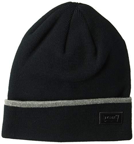 Levis Mens Warm Winter Knit Skullie Beanie