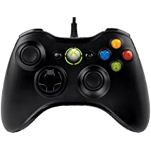 Microsoft Xbox 360 Wired Controller for Windows & Consola Xbox 360, Negro