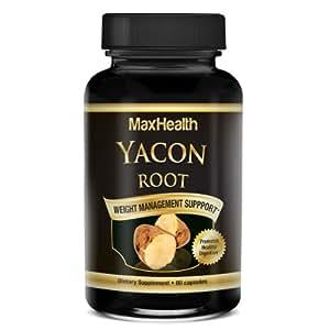 Amazon.com: Pure Yacon Root Capsules – Raw Organic Vegan