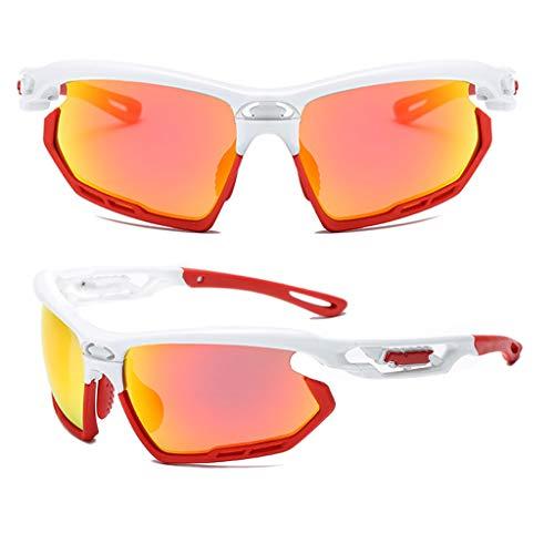 MaxFox Women Men Professional Polarized Cycling Glasses Casual Sports Outdoor Sports Sunglasses Anti-UV Sunshade UV Lenses Eyewear (Sunshades Eyewear)