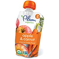 12-Pack Plum Organics 4 oz Stage 2 Baby Food