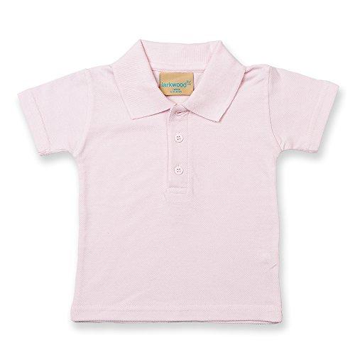 Larkwood Baby Jungen (0-24 Monate) Poloshirt Rosa Blassrosa
