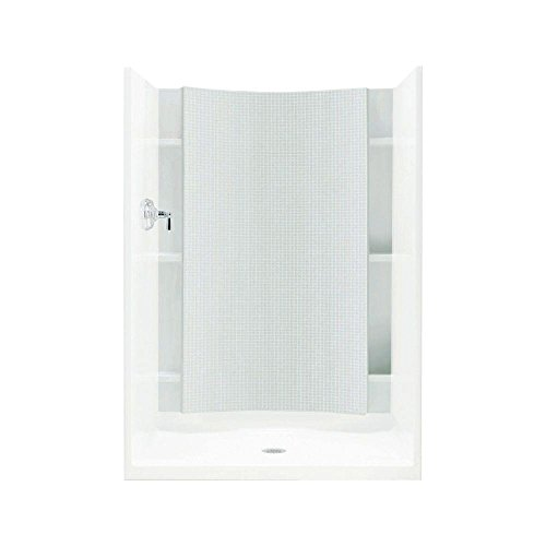 STERLING 72252100-0 Accord 1-1/4-Inch x 42-Inch x 77-Inch Direct-to-Stud Shower Back Wall in White, 1-Piece - Accord Back Wall
