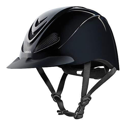 (Troxel Liberty Helmet, Black, Medium)