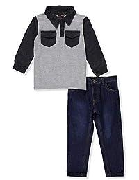 Tuff Guys Boys' 2-Piece Pants Set Outfit