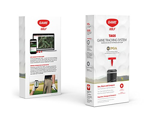 Game Golf Digital Shot Tracking Tags Set by Game Golf
